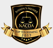 Nation's Premier NACDA Top Ten Ranking 2017